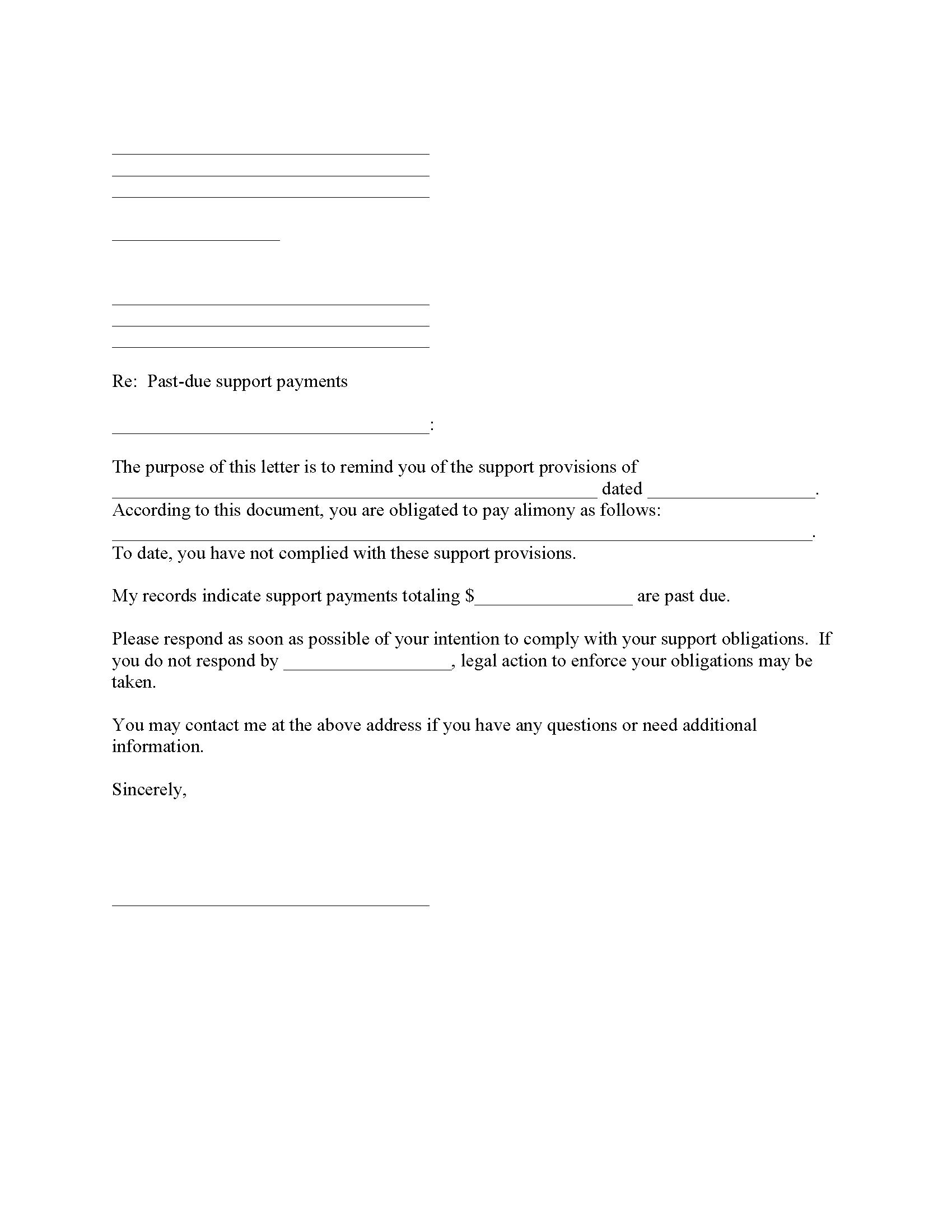 Identity Theft Affidavit Form