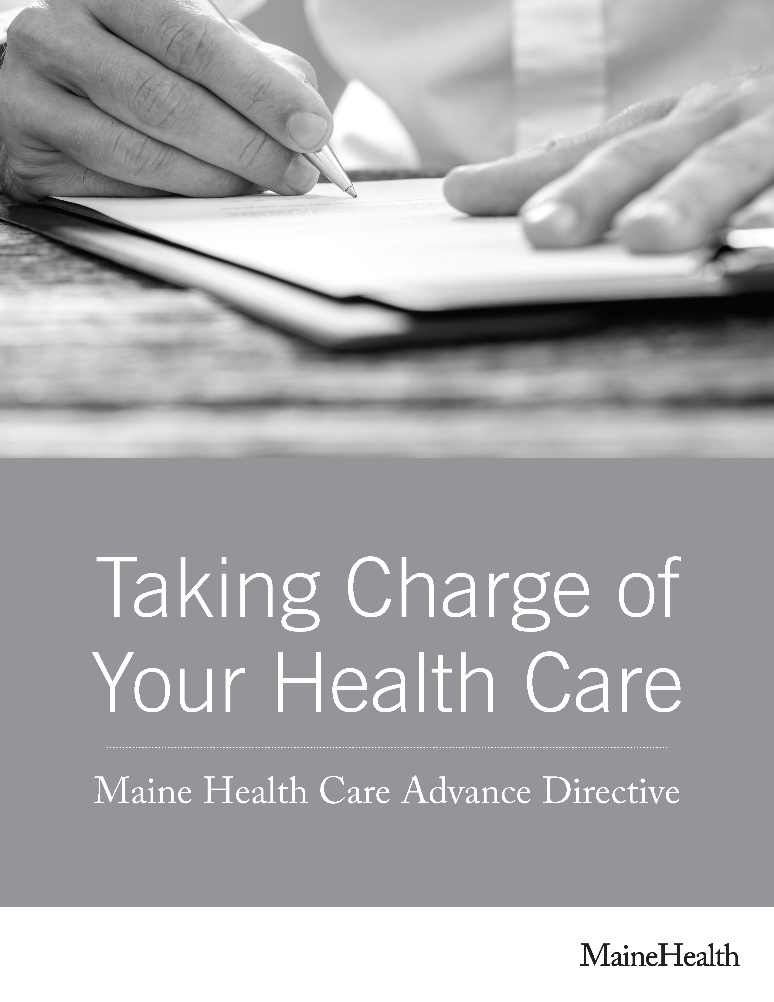 Maine Advance Directive For Health Care