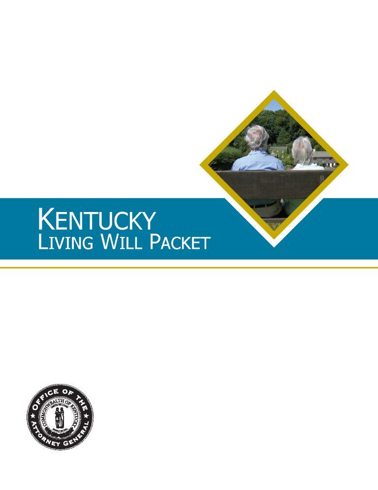 Kentucky Advance Directive Form Health Care Form