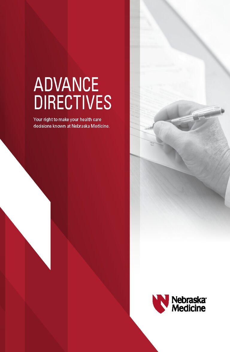 Nebraska Advance Directive For Health Care Form