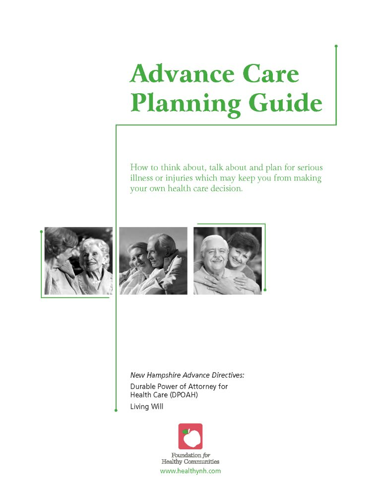 New Hampshire Advance Directive For Health Care Form